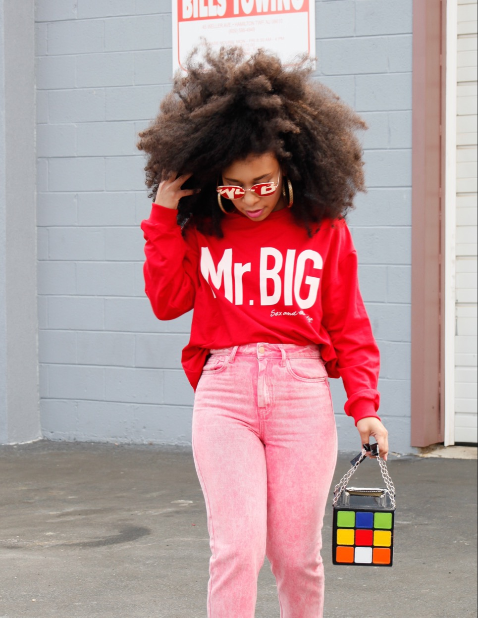 779e5fec So naturally, when I saw this Mr. BIG (Carrie's Boo) sweatshirt in Zara I  just had to get it!