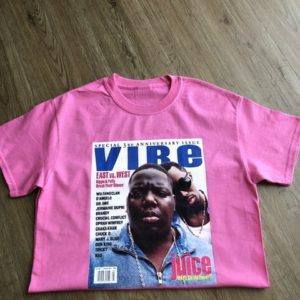 It's a VIBE: Notorious BIG Vintage T